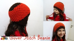 Glover Stitch Beanie by Meladora's Creations