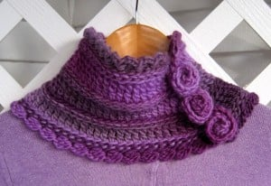 Florealis Neckwarmer by Mr. Micawber's Recipe for Happiness.