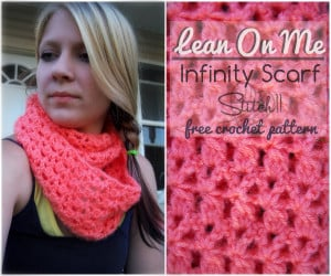Lean on Me Infinity Scarf by Stitch11