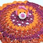 Lion Comfort Toy by Kim Guzman of CrochetKim