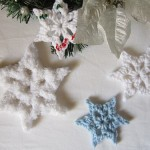 Simple Snowflake by Crochet is the Way