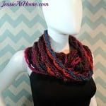 Nettie's Super Simple Cowl by Jessie At Home