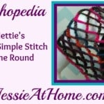 Nettie's Super Simple Stitch in the Round Video by Jessie At Home