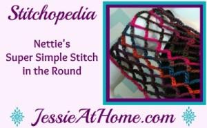 Nettie's Super Simple Stitch in the Round Video
