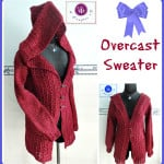 Overcast Sweater by Maz Kwok's Designs