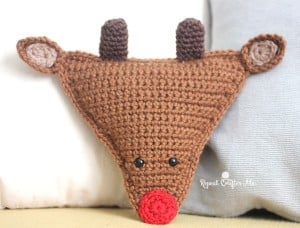 Cuddly Crochet Rudolph the Reindeer by Repeat Crafter Me