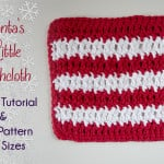 Santa's Little Dishcloth by The Stitchin' Mommy