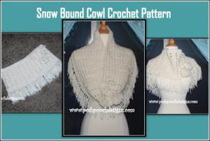 Snow Bound Cowl by Sara Sach of Posh Pooch Designs