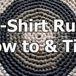 T- Shirt Yarn Round Rug by Meladora's Creations