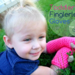Toddler Fingerless Gloves by Stitch11