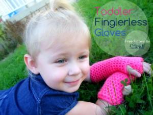 Toddler Fingerless Gloves by Stitch11