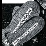 Children's Crocheted Mittens #634 by Free Vintage Crochet