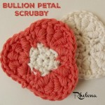 Bullion Petal Scrubby by Rhelena of CrochetN'Crafts