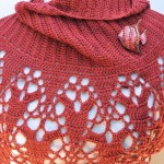 Cinnmon Fling Wrap by Kim Guzman of CrochetKim
