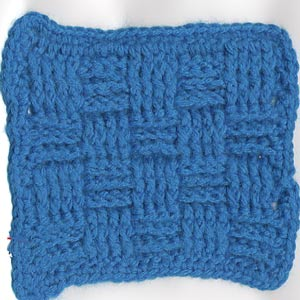 Checkerboard Sampler Square by Patty's Filet and Crocheting Page