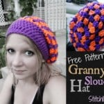Granny's Slouch Hat by Stitch11