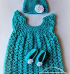 Baby Beanie – 6-12 months by Free Crochet Patterns and Designs by LisaAuch