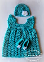 Baby Beanie - 6-12 months by Free Crochet Patterns and Designs by LisaAuch