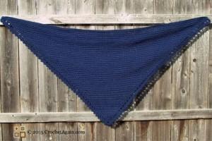 A Simple Crochet Shawl by Crochet Again
