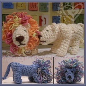Leonard & Lucy Lionheart by Designs from Grammy's Heart, with Love