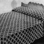 Galaxy Bedspread by Free Vintage Crochet