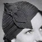 Ridge Round Hat by Free Vintage Crochet