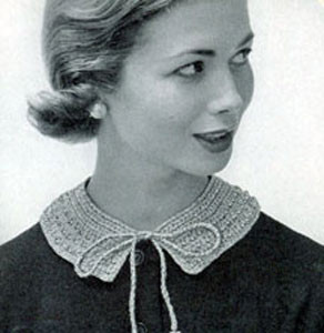 The Jeweled Collar by Free Vintage Crochet