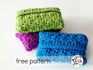 Pocket Tissue Cover by Snappy Tots