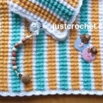 Bubbles Baby Blanket by JustCrochet