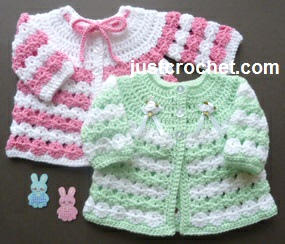 Newborn Coat by JustCrochet