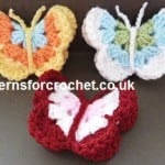 Butterfly Motif by Patterns For Crochet