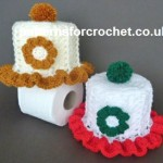 Filled Toilet Roll Cover by Patterns For Crochet