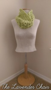Stacked Shells Cowl by Dorianna Rivelli of The Lavender Chair