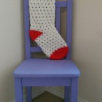 Lazy Daisy Christmas Stocking by Dorianna Rivelli of The Lavender Chair