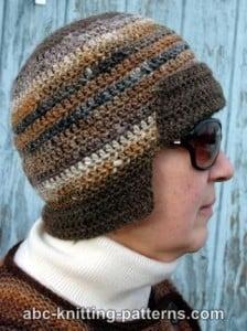Mini Bomber Hat by ABC Knitting Patterns