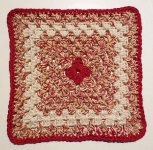 Country Granny Dishcloth by My Recycled Bags
