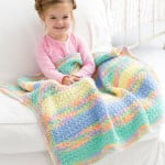 Tropical Baby Blanket by Marty Miller for Red Heart