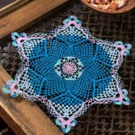 Snowflake Doily by LIsa Gentry for Red Heart