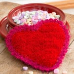 Valentine Scrubby by Michele Wilcox for Red Heart