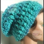 Calypso Slouchie Hat by Home Made Hats by Cheryl