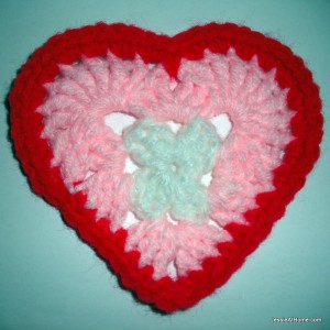 Heart Coasters or Appliques by Jessie At Home