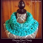 Amazing Grace Chunky Crochet Cowl by Beatrice Ryan Designs