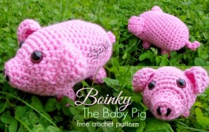 Boinky the Baby Pig by Stitch11