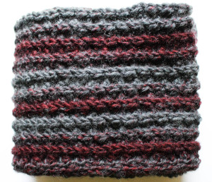 Bulky Faux Mistake Rib Scarf by Marie Segares/Underground Crafter