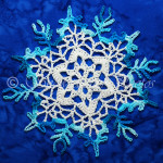 Anticipation Snowflake by Snowcatcher