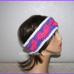 Happy Hearts Valentine Headband by Sara Sach of Posh Pooch Designs