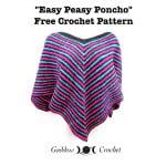 Easy Peasy Poncho by Goddess Crochet