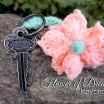 Flower Keychain by Stitch11