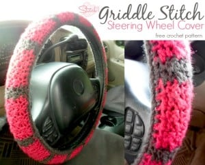 Griddle Stitch Steering Wheel Cover by Stitch11