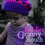 Toddler Granny  Slouch Hat by  Stitch11
